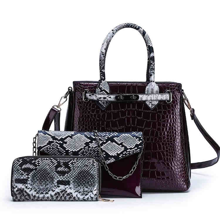 new 3pcs purses women handbags