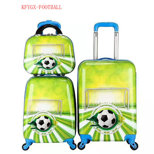2020 kid luggage trolley bag 3pcs