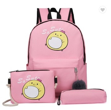 cheap pink lady polyester backpacks