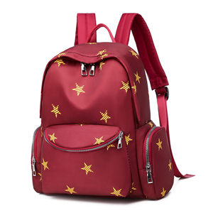 2020 girls backpacks with printed stars