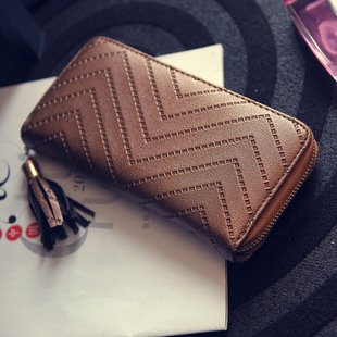fashion PU wallet for lady