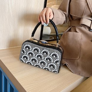 metal structure PC ABS handbags