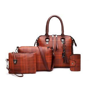 trending pu handbags set for lady